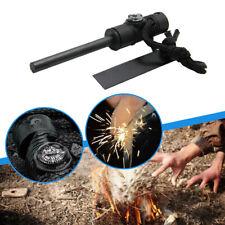 Outdoor  Fire Starter Magnesium Flint Stone Lighter Survival Camping Multi-Tool