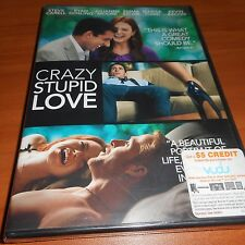 Crazy, Stupid, Love. (DVD, Widescreen 2011) Steve Carell Ryan Gosling NEW
