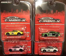 Greenlight Nissan GTR 2017 Diecast Convention Mexico City Set of 4 R35