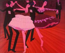 John BRACK   'Latin American Grand Final'  PRINT - MODERN ART   Ballroom Dancing