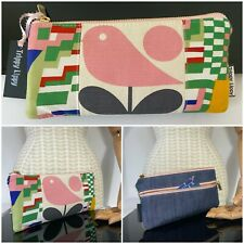 New Retro Orla Kiely Bird Liberty Vtg Collier Campbell Bauhaus Card Purse Wallet