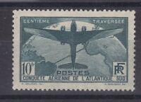 France année 1936 100 è traversée aérienne de l'Atlantique Sud N° 321** réf 1269
