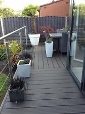 incl. fixings Composite Decking Forma Flint 15 SQM Pack LOW MAINTENANCE