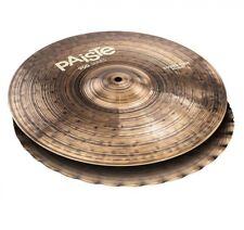 "Paiste 14"" 900 Sound Edge Hi-Hat Cymbals P900SEH14"