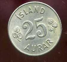 ISLANDE 25  aurar 1965