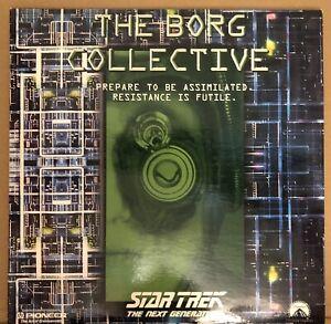 "Star Trek TNG ""The Borg Collective"" 2 Disc Set Plus Insert. Like New."