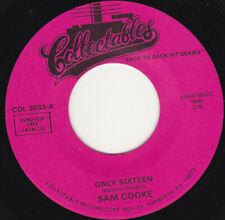 """SAM COOKE - Only Sixteen 7"""" 45"""