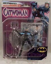 Microman Catwoman MA-10 Batman Japanese Takara Exclusive Selina Kyle Whip (MOC)