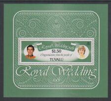 Tuvalu - 1981, Royal Wedding sheet - MNH - SG MS174