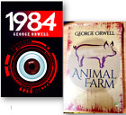 Animal Farm and 1984 by George Orwell - 2 NEW Paperback Books Set