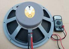 Vintage JBL LE15A Speaker 16 Ohms  Singe C50 SM, C51 C60 C61 Paragon & Other