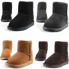 Leather Snow, Winter Boots Casual Shoes for Women