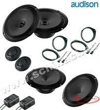 AUDISON 6 speakers kit for FIAT 500 cinquecento spacer rings adapters