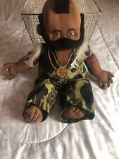 A-Team Mr. T Hand-Made Plush Cabbage Patch Style Doll