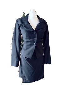 Vivienne Westwood Anglomania Black  Suit (Blazer +skirt)