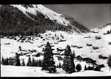 MORGINS (SUISSE) CHALETS , VILLAS & EGLISE en hiver 1965