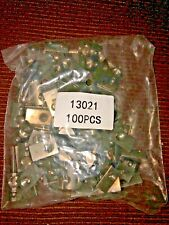 New listing 80/20 Oem Lot 100pcsSs 5/16-18 Roll-in T-Nut w/Ball Spring 15 / 40 Series #13021