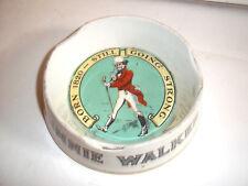 rare Johnnie Walker Whiskey Advertising Pub  ashtray James Green LTD