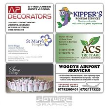Premium PVC BUSINESS CARDS - Printed Direct to White Plastic. BULK PURCHASE
