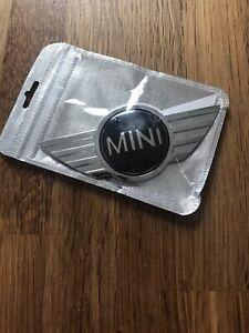 BMW MINI COOPER METAL BONNET BOOT REPLACEMENT BADGE 2011-13 STICKER NEW FREEPOST