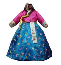 Luxemoon Boutique Embroidered Korean HANBOK DRESS 1-2T