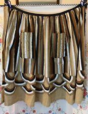 Vintage Amazing Art Deco Style Long Plus Sized Apron