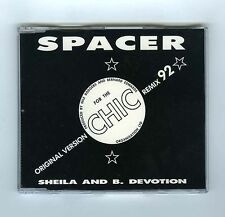 MAXI CD SINGLE SHEILA & B.DEVOTION /CHIC SPACER REMIX 92