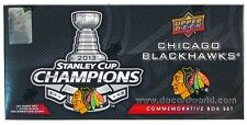 2013 Chicago Blackhawks Stanley Cup Champions UPPER DECK Card Box Set