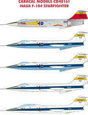 Caracal Decals 1/48 NASA Lockheed F-104 Starfighter # 48161