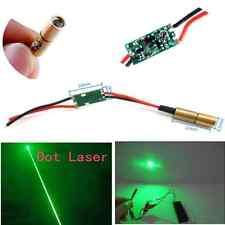 6.5mm 3V 5mW 532nm Green Dot Laser Module Diode Driver Copper Laser Head Sale