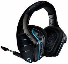 LOGITECH G933 SPECTRUM GAMING HEADSET - NO POWER OR WIRELESS - WORKS with 3.5mm