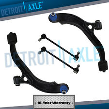 New 4pc Kit: Front Lower Control Arms + Sway Bar Links for Town & Country