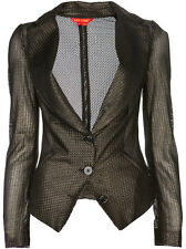 Vivienne Westwood Red Label chainmail jacket blazer black metallic S