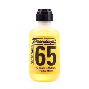 Dunlop 6554 Fretboard 65 Ultimate Lemon Oil, 4oz