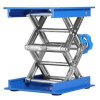 100*100mm Aluminum Lab Lifting Platform Lab Lifter Stand Rack Scissor Lab Jack
