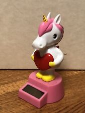 Solar Powered Dancing Bobblehead Toy New For 2020 Valentine's Day  - Unicorn
