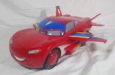 2012 Disney Cars Lightning McQueen Hawk Transforms Talks & Lights Up Mattel