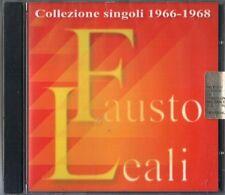 LEALI FAUSTO COLLEZIONE SINGOLI 1966 - 1968 CD SEALED ITALY