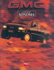GMC Sonoma Prospekt USA 1996 brochure Auto PKWs Autoprospekt Broschüre Amerika