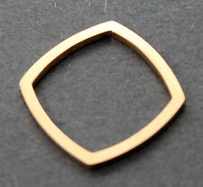 FRANK GEHRY TIFFANY&CO 750 18K ROSE GOLD TORQUE PENDANT / KNUCKLE RING SIZE 3.5