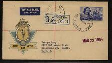Australia Davis Antarctic registered cover Ms0422
