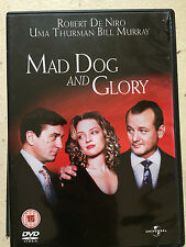 Robert De Niro Bill Murray Uma Thurman MAD DOG AND GLORY ~ 1993 Romcom | UK DVD
