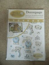 Daisy & Dandelion Die Cut Decoupage Down in the Woods Collection - Decorating