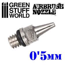 Obturador para Aerografo de 0,5mm - Para Modelismo Miniaturas Pintura Maquetas