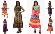 100% Cotton Tunic Women's Long Dress Indian Fashion Clothes Women Beach Sundress