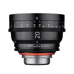 XEEN 20mm T1.9 Wide Angle Pro Cinema Lens (Nikon F)
