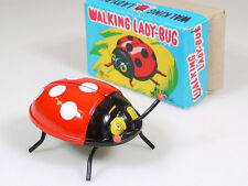 K Walking Lady-Bug mariquitas wind up japón Mechanical chapa OVP 1402-21-18