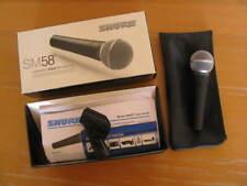 Shure Mikrofon, SM58, NEU