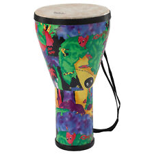 Remo Kids KD060801 Rainforest Djembe 8 x 14 Inches with Removable Strap