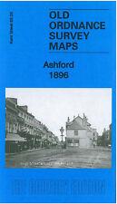 Old Ordnance Survey Map Ashford 1896